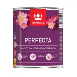 Краска износостойкая глубокоматовая PERFECTA база C 2.7л TIKKURILA