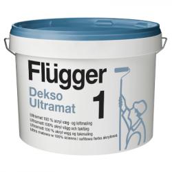 Краска акриловая для стен и потолков Dekso Ultramat 1 base 1 9.1л FLUGGER 48295