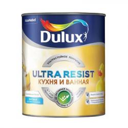 Краска в/д для кухни и ванны Ultra Resist матовая BC 0.9л DULUX