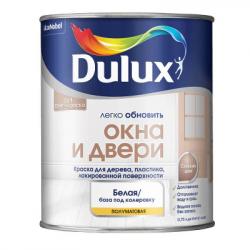Краска в/д Окна и двери полуматовая BC 0,75л DULUX