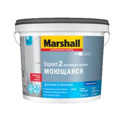 Краска Export-2 глубокоматовая BW 2,5л MARSHALL