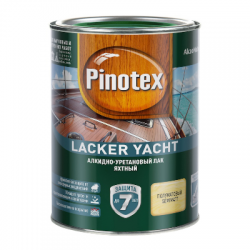 Лак Lacker Yacht 40 полуматовый 2,7л PINOTEX