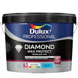 Краска в/д Prof Diamond Max Protect матовая BW 1л DULUX