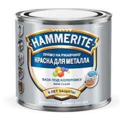 Эмаль гладкая база С бесцветная 0,65л HAMMERITE