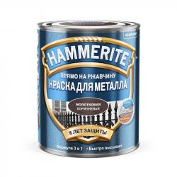 Эмаль молотковая коричневая 0,75л HAMMERITE